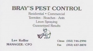 Brays Pest Control